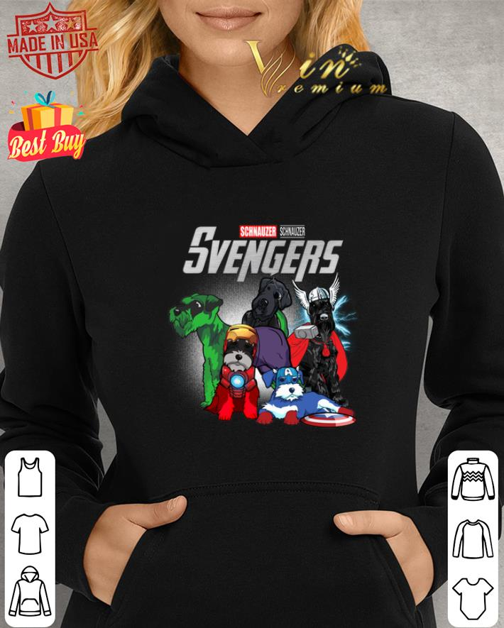 Marvel Standard Schnauzer Svengers Avengers Endgame shirt