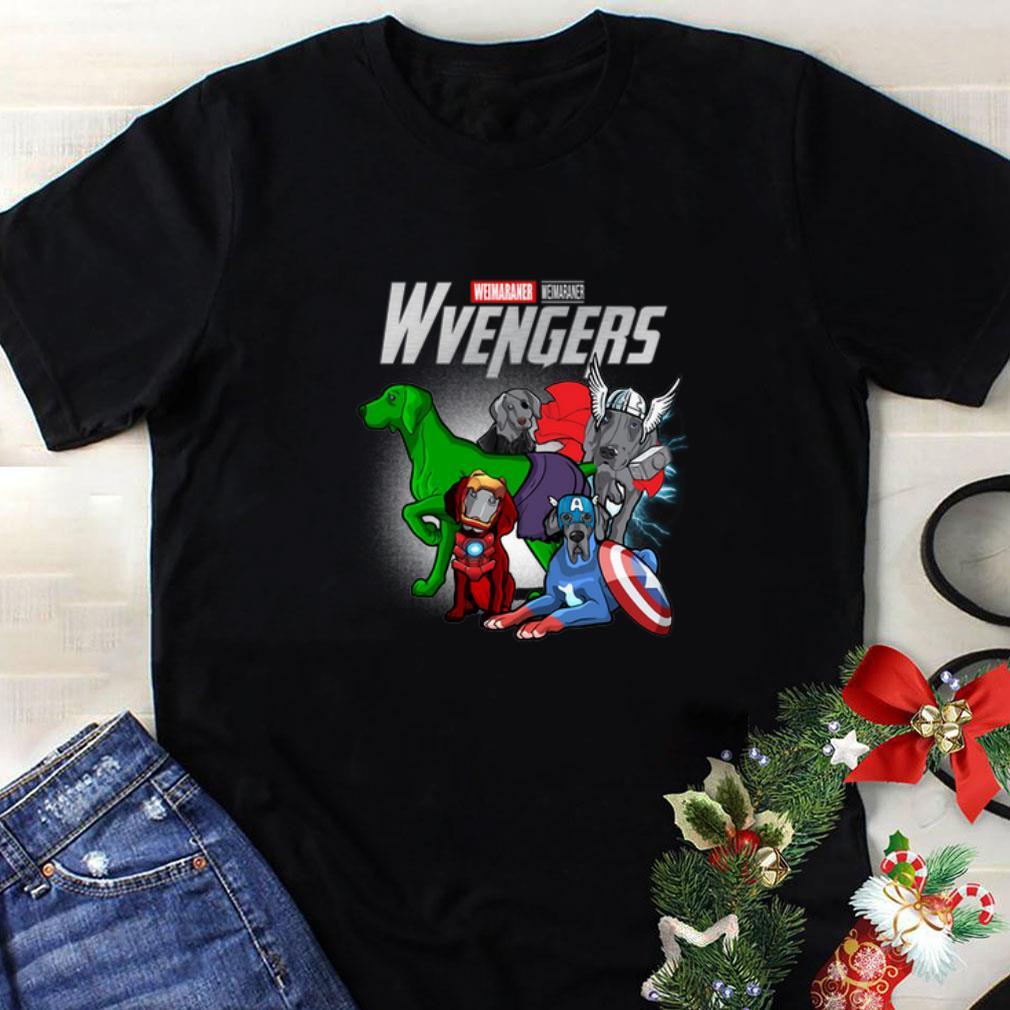 Marvel Weimaraner Wvengers Avengers Endgame shirt