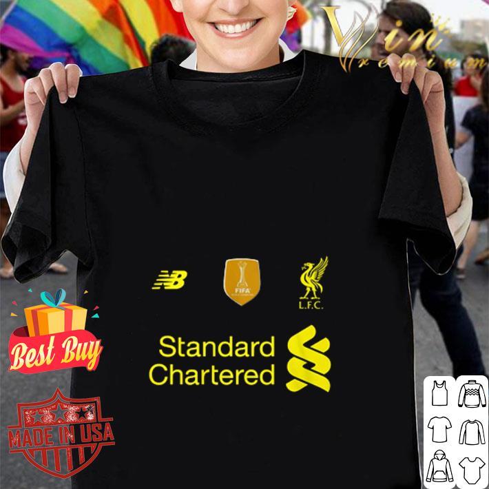 New Balance and Liverpool FC Standard Chartered shirt