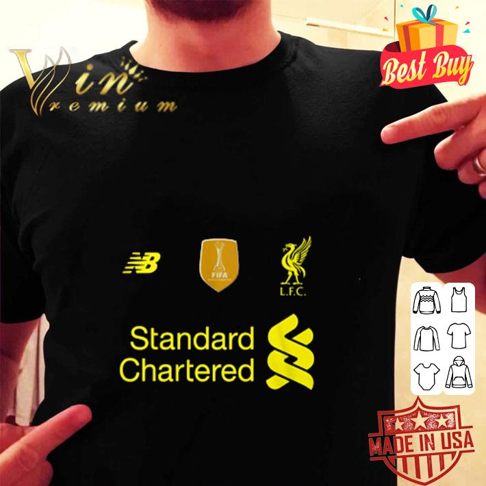New Balance And Liverpool Fc Standard Chartered Shirt Hoodie Sweater Longsleeve T Shirt