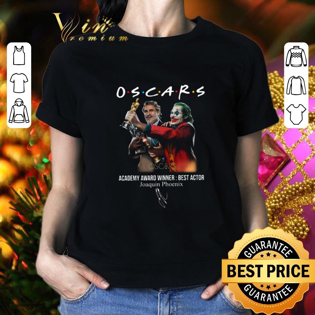 Oscars Academy Award Winner Best Actor Joaquin Phoenix Signature shirt