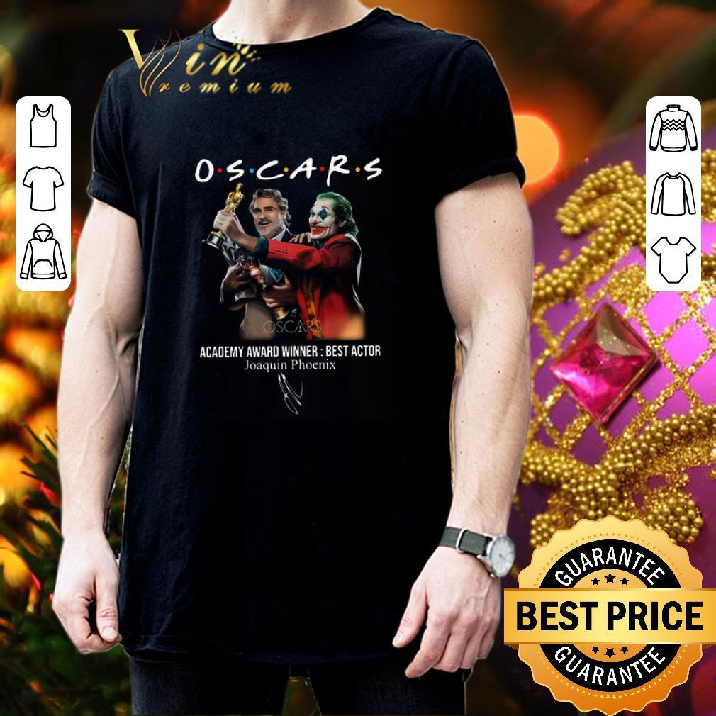 Oscars Academy Award Winner Best Actor Joaquin Phoenix Signature shirt 3