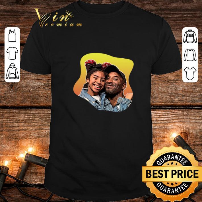 Clickbuypro Unisex T-shirt Rip Kobe Bryant And Gianna Bryant Girldad Kobe And Gigi Shirt T-shirt Navy 4xl