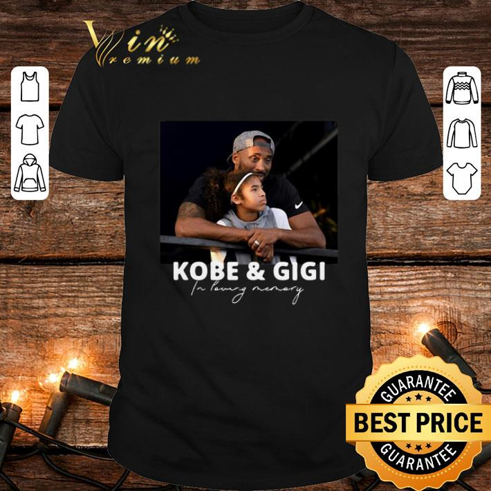 Clickbuypro Unisex T-shirt Rip Kobe & Gigi In Loving Memory Kobe And Gianna Bryant Shirt T-shirt Navy 4xl