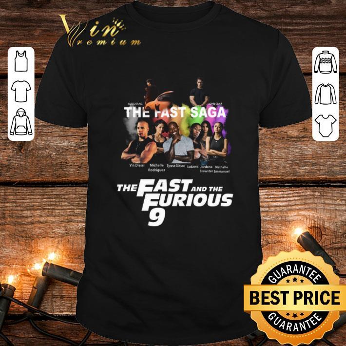 Sung Kang John Cena The Fast Saga the Fast and the Furious 9 shirt