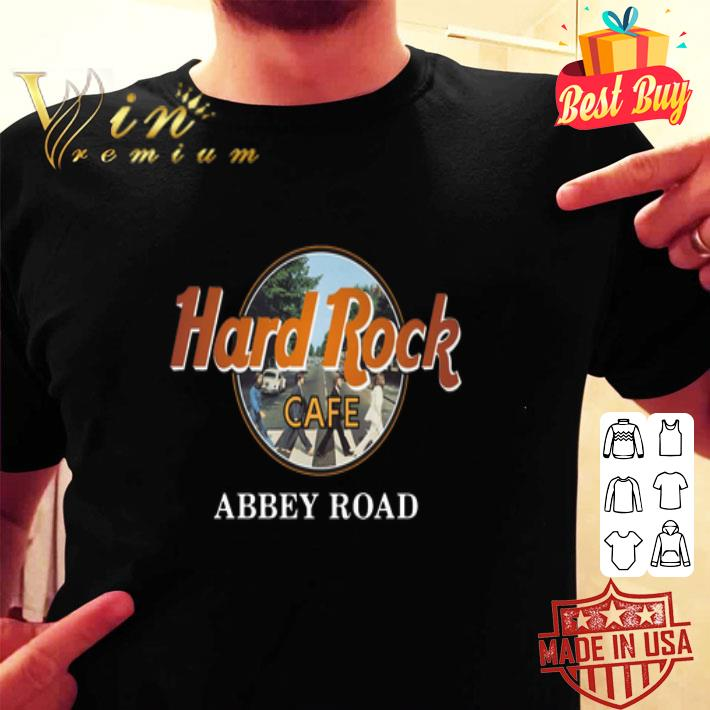 The Beatles Hard Rock Cafe Abbey Road shirt