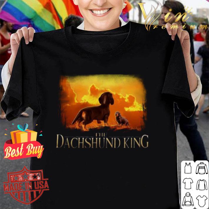 The Dachshund Queen mashup The Lion King shirt