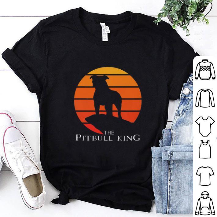 The Pitbull King The Lion King Sunset shirt