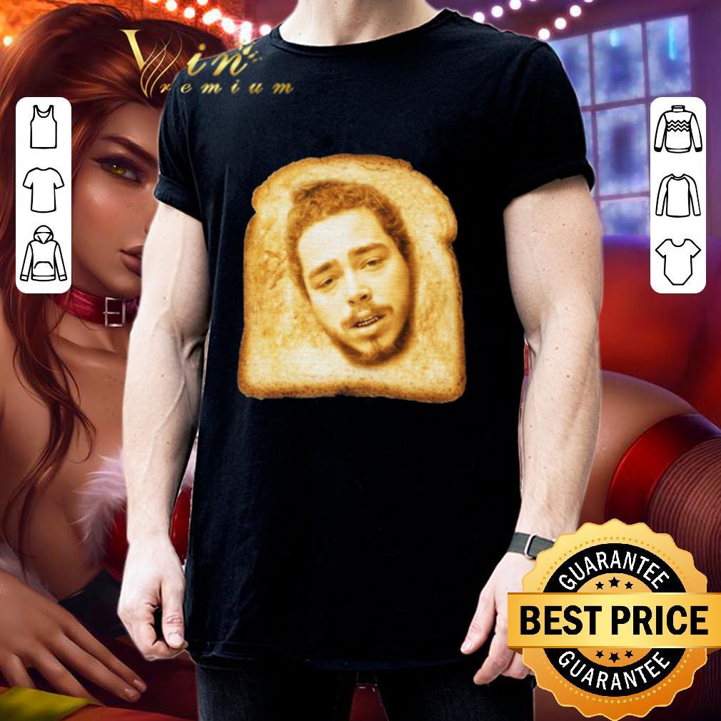 Toast mashup Post Malone shirt 3
