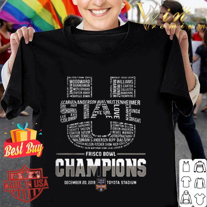 Utah State Frisco Bowl Champions Logo shirt