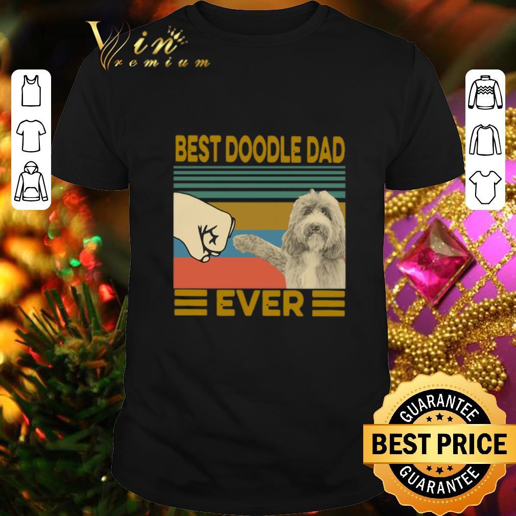 Vintage Best Doodle Dad Ever shirt