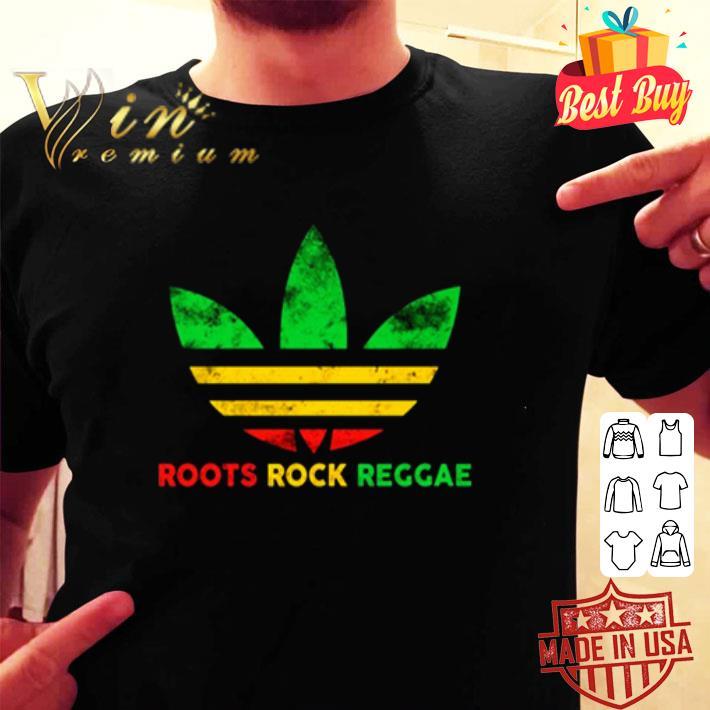Adidas Logo Roots Rock Reggae shirt