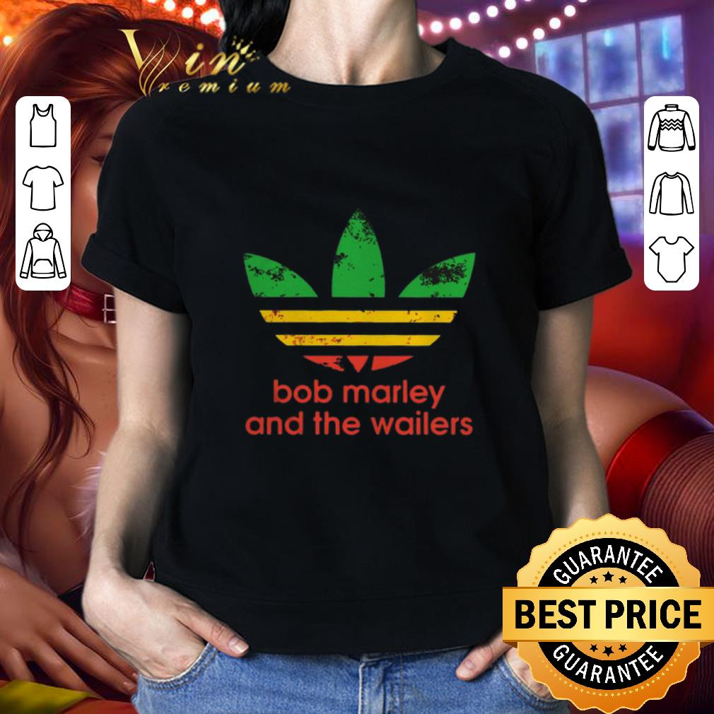 Adidas logo Bob Marley And The Wailers shirt