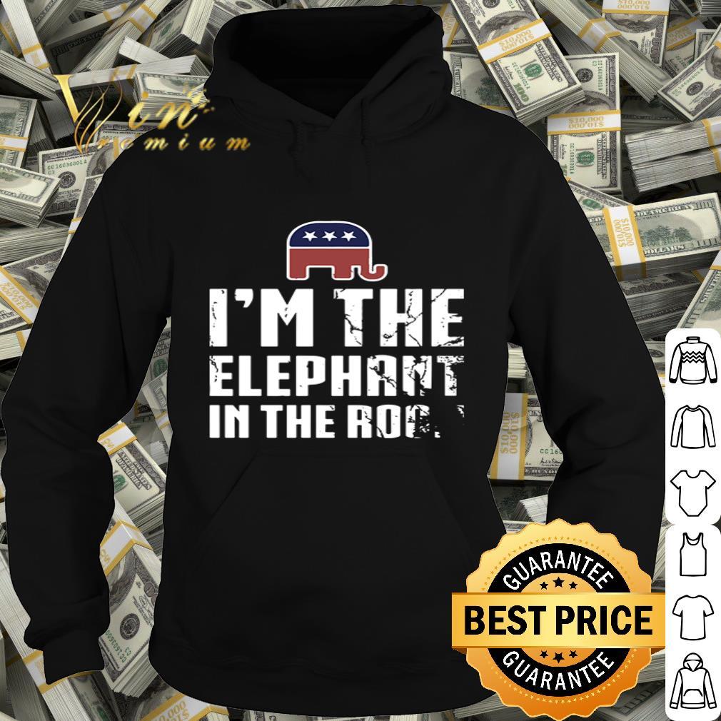 American elephant symbol I'm the elephant in the room shirt