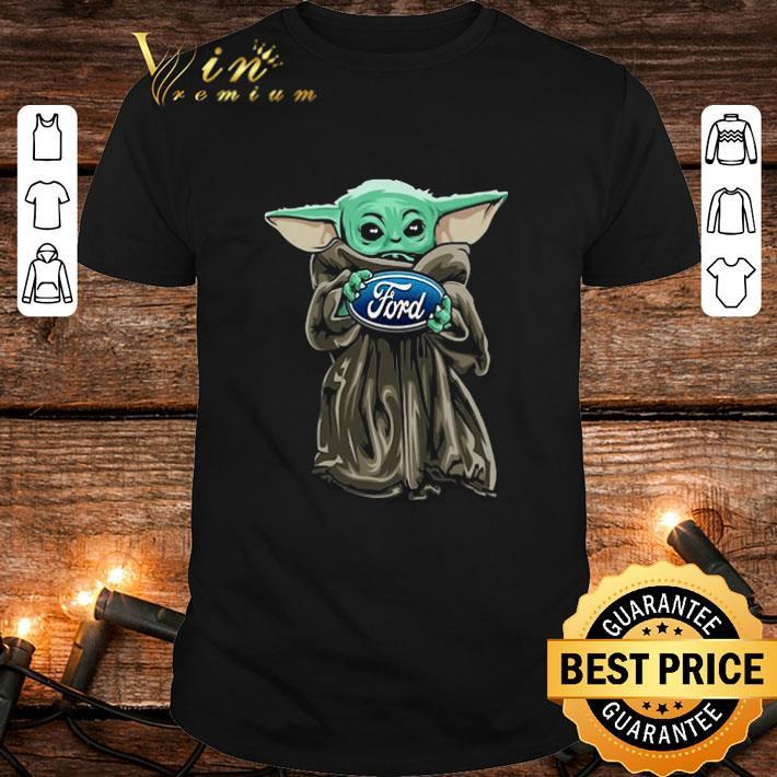 Baby Yoda Hug Ford Motor Company Star Wars shirt 1