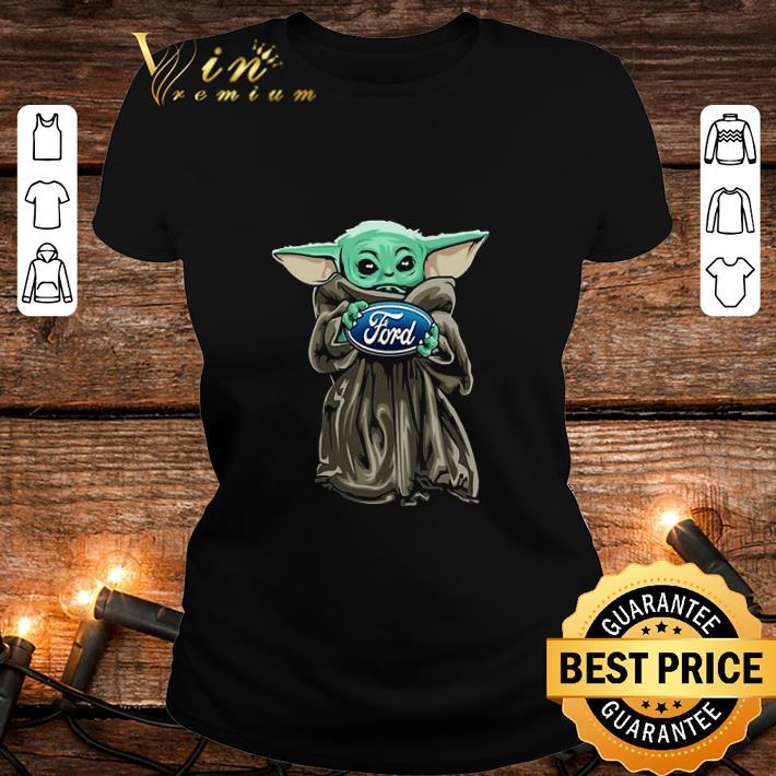 Baby Yoda Hug Ford Motor Company Star Wars shirt 2