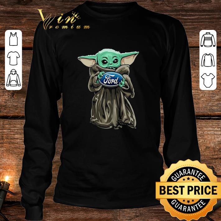 Baby Yoda Hug Ford Motor Company Star Wars shirt 3