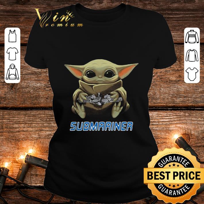 Baby Yoda Hug Submariner Star Wars shirt