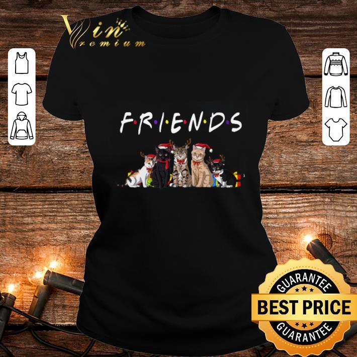 Christmas Best Friends Cat shirt