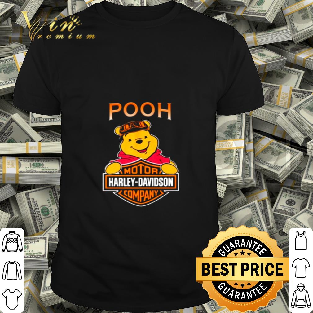 Disney Pooh mashup Motor Harley-Davidson Company shirt