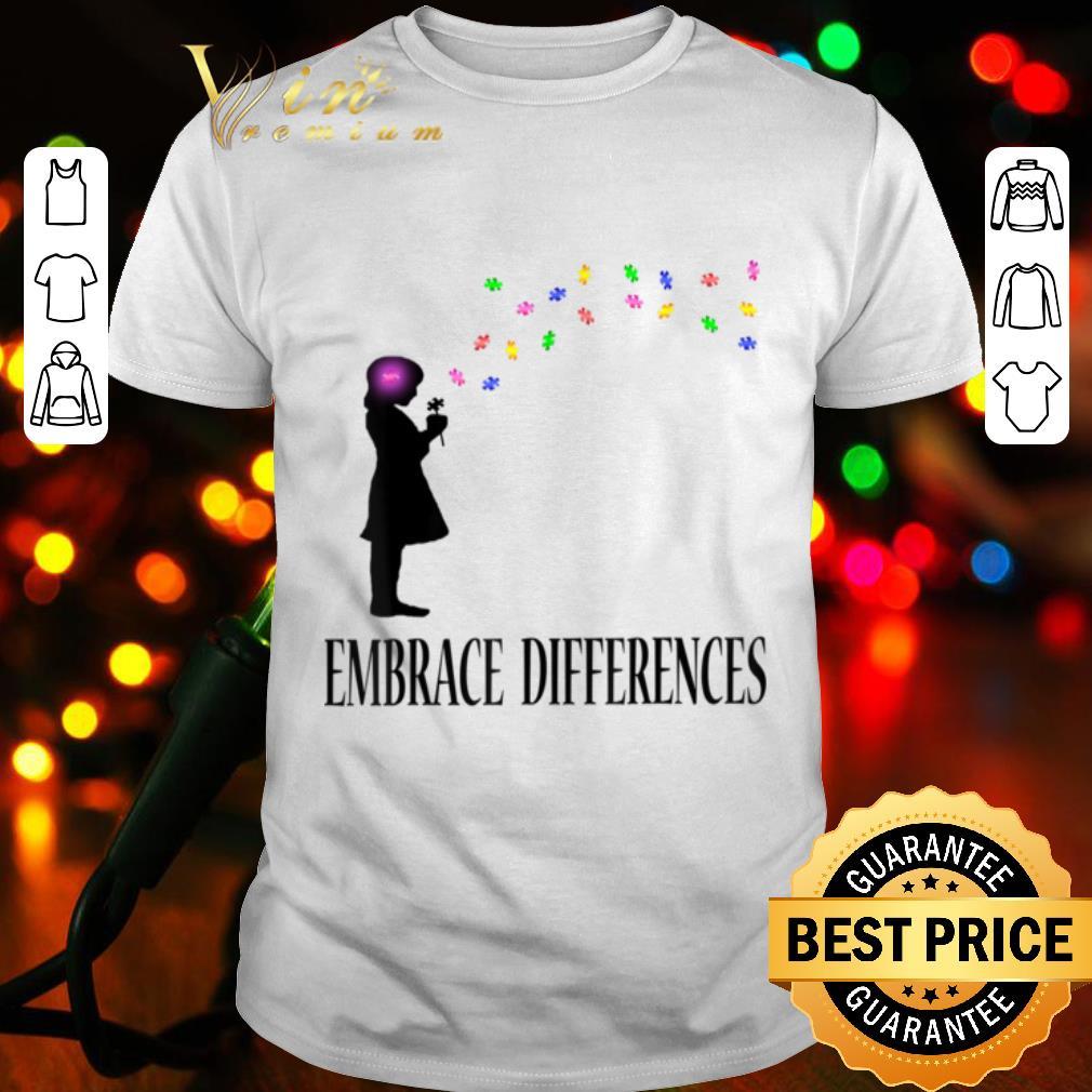 Embrace Differences Shirt Autism Awareness Shirts shirt