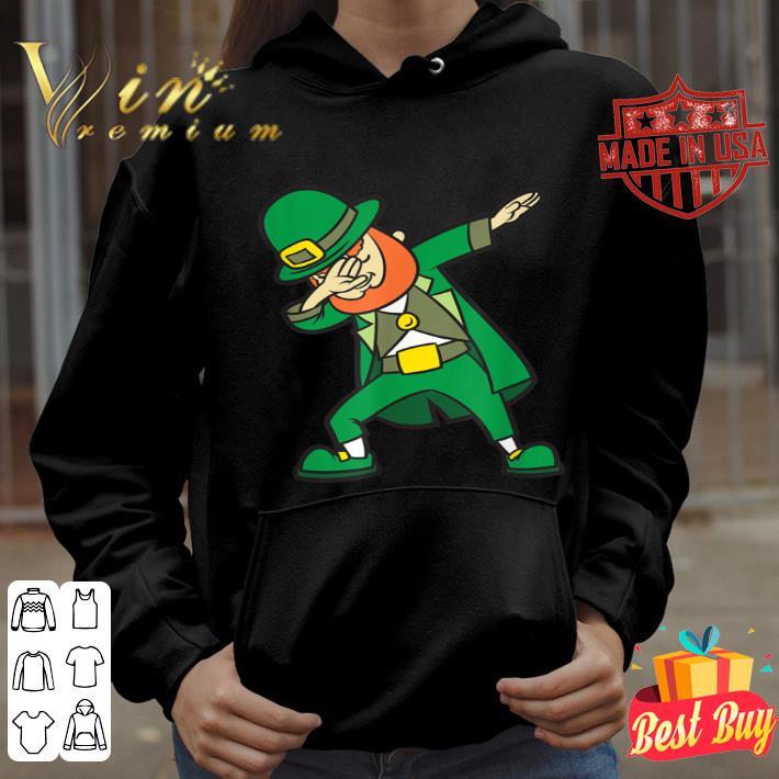 Funny St Patricks Day Dabbing Leprechaun Irish shirt