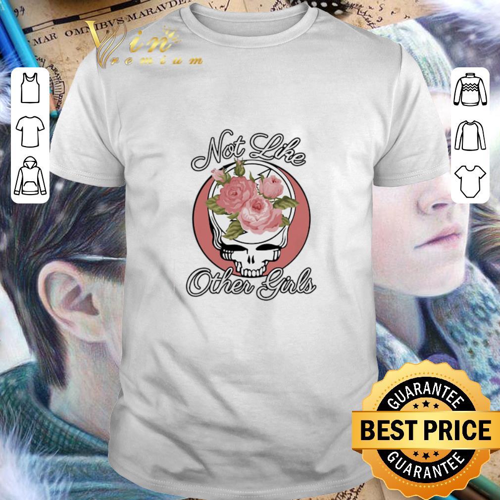 Grateful Dead logo Roses not like other girl shirt