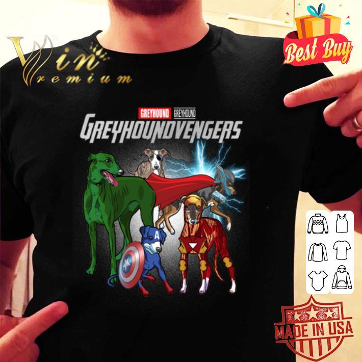 Greyhound Marvel Avengers Endgame Greyhoundvengers shirt