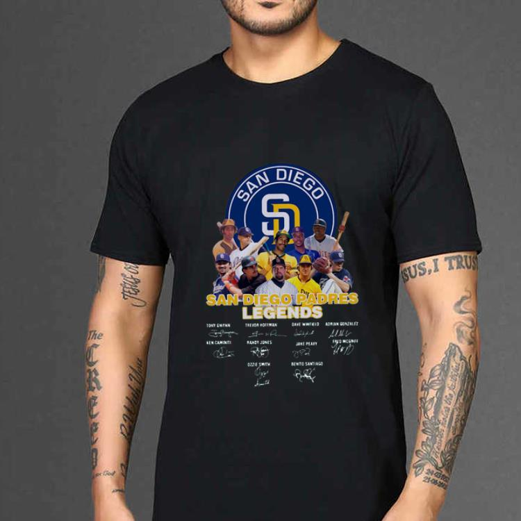 Hot San Diego Padres Legends Legends Players Signatures shirt