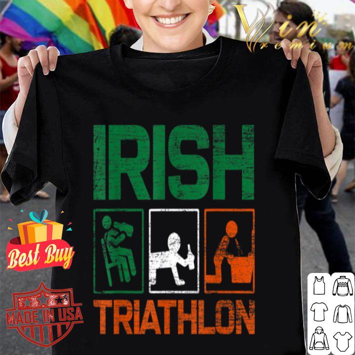 Irish Triathlon Ireland Saint Patricks Day T-shirt