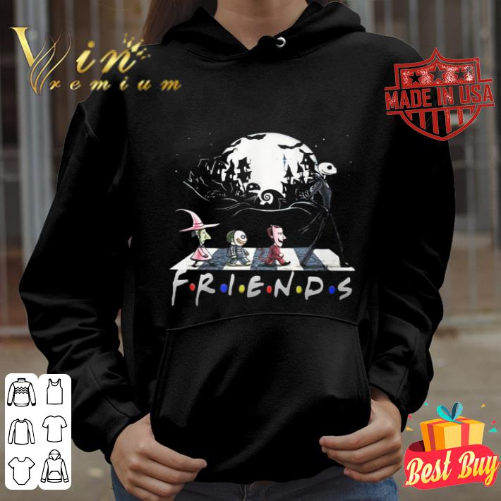 Jack Skellington And Friends Crossing Road Halloween shirt