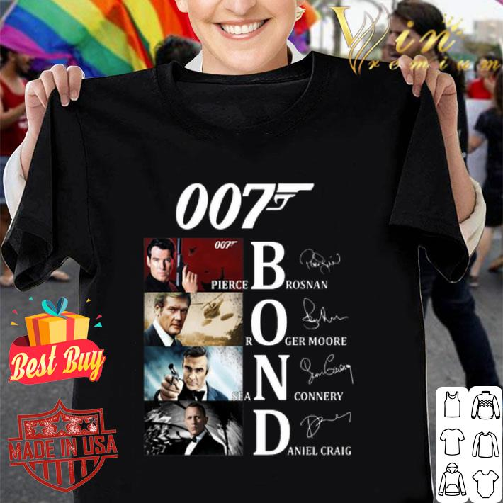 James Bond Characters 007 shirt
