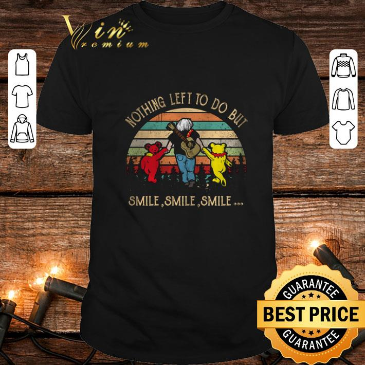 Jerry Garcia Grateful Dead Nothing left to do but smile vintage shirt