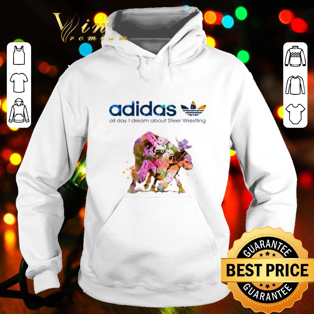 Logo adidas all day i dream about Steer Wrestling shirt