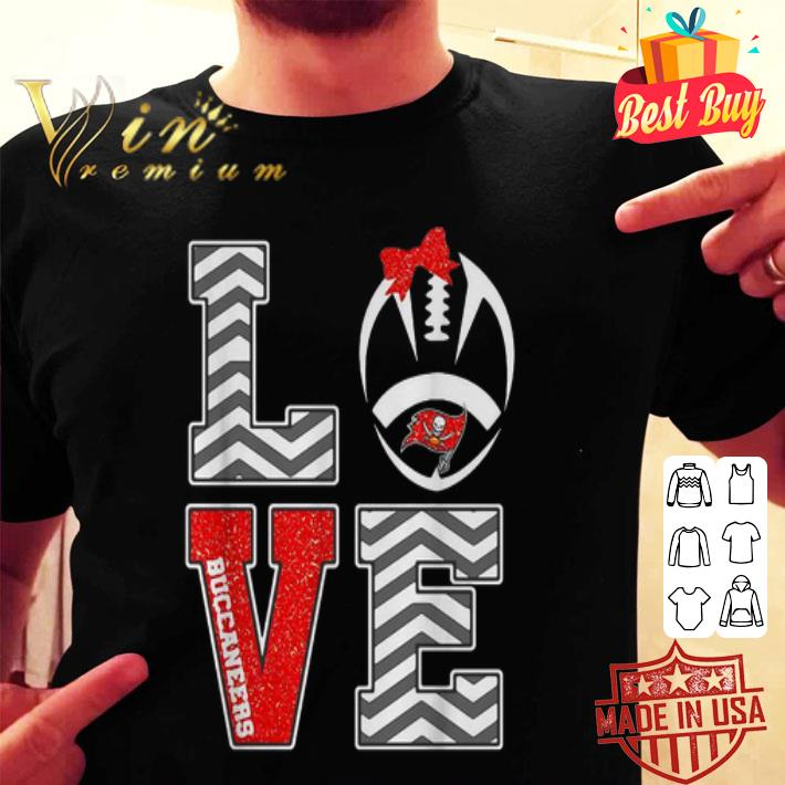 Love Tampa Bay Buccaneers logo shirt