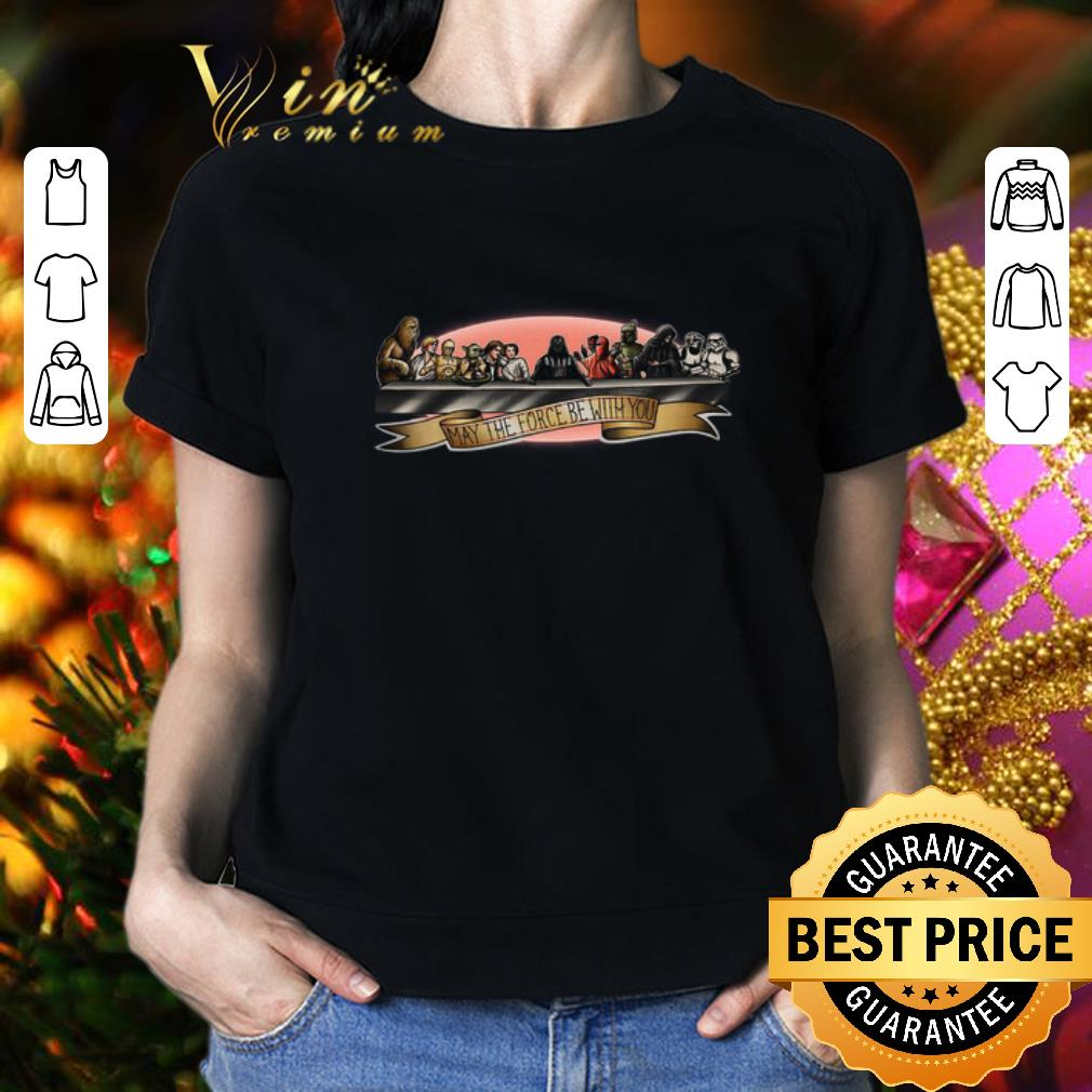 May The Force Be With You Star Wars characters shirt