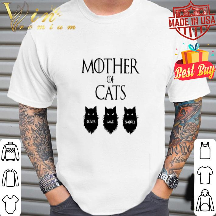 Mother Of Cats GOT Oliver Max Smokey shirt