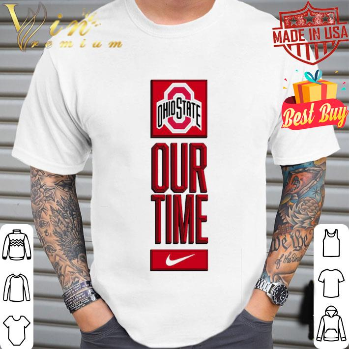 Ohio State Buckeyes logo basketball Our Time 2020 shirt
