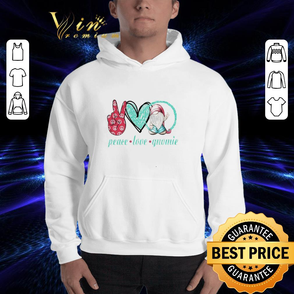 Peace Love Gnomie shirt