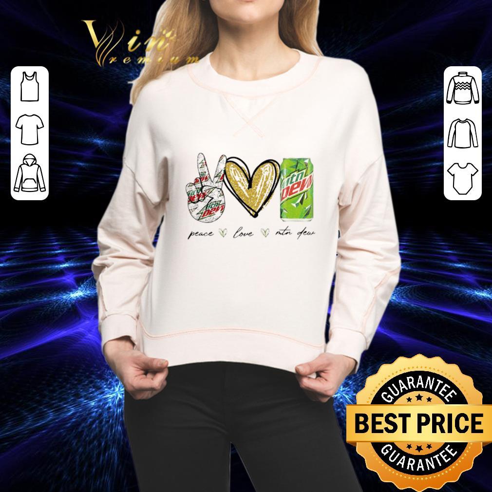 Peace Love Mtn Dew shirt 2