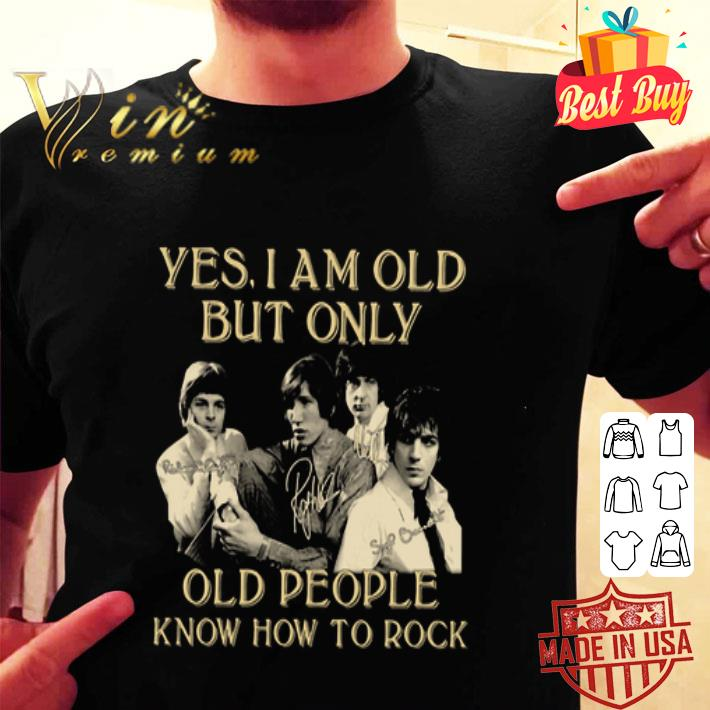 Pink Floyd Signatures Yes I Am Old But Only Old People Know How To Rock shirt
