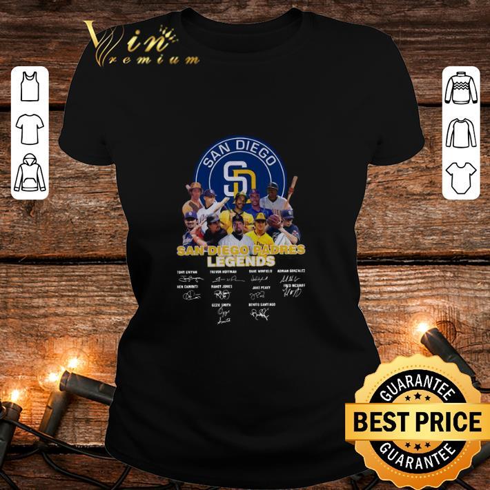 San Diego Padres Logo Legends Signatures shirt