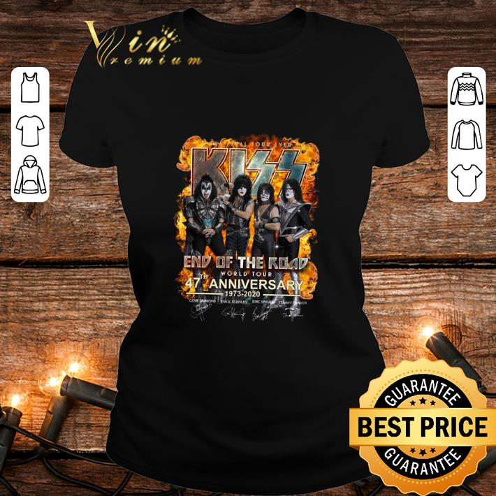 The Final Tour Ever Kiss End Of The Road 47 th Anniversary shirt 2