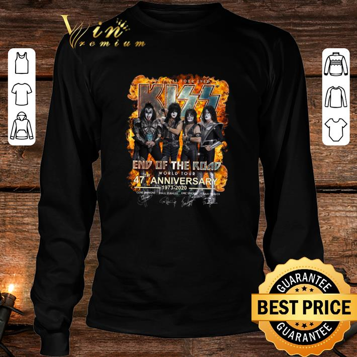 The Final Tour Ever Kiss End Of The Road 47 th Anniversary shirt 3