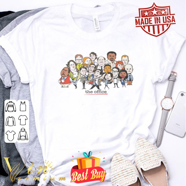 The Office chibi characters shirt