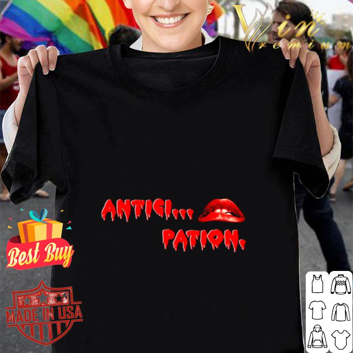 The Rocky Horror picture show Anticipation shirt