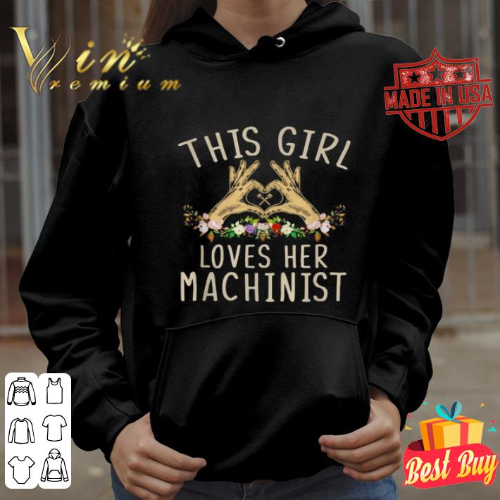 This girl loves her machinist shirt