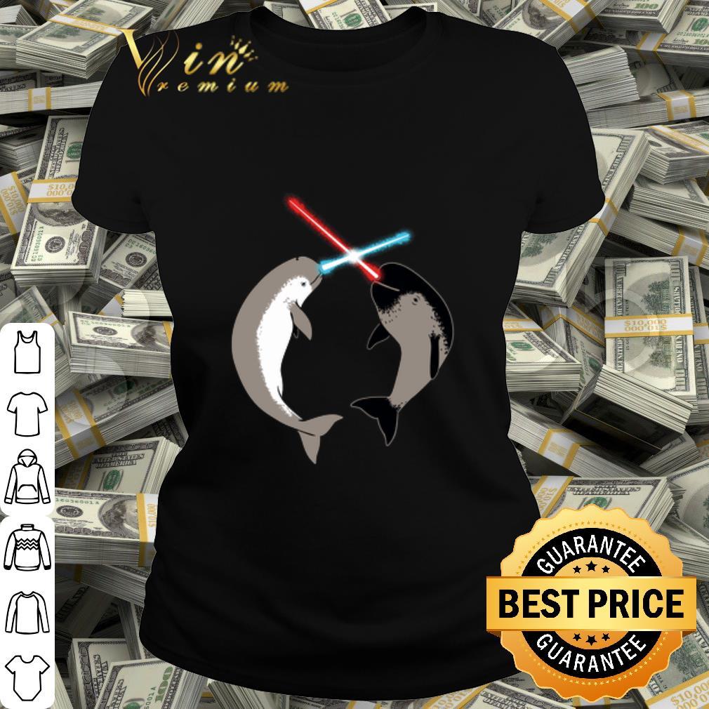 Whale Star Wars Nar Whars shirt