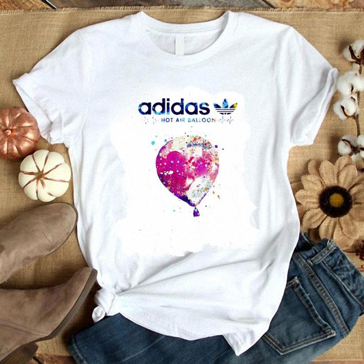 adidas hot air balloon colors shirt