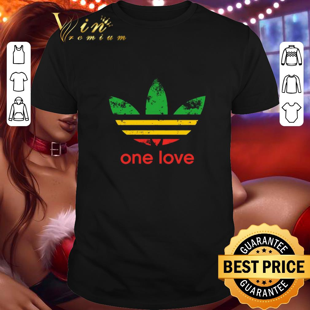 adidas one love Bob Marley shirt